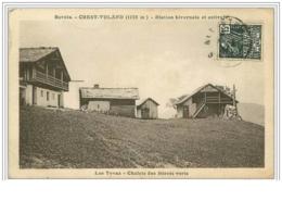 73.CREST-VOLAND.STATION HIVERNALE ET ESTIVALE.LES TOVAZ.CHALETS DES BERETS VERTS - Francia