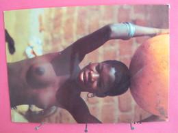 Afrique En Couleurs - Jeune Africaine - Scans Recto Verso - Non Classés