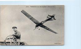 "TRANSPORTs - AVIATION - Thomas Sur Monoplan "" Antoinette "" - Aviateurs"