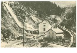 74.CHAMONIX.N°5900.USINE DU CHEMIN DE FER DU FAYET A CHAMONIX - Chamonix-Mont-Blanc