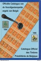 Officiele Catalogus Van De Voorafgestempelde Zegels Van Belgie - Belgique