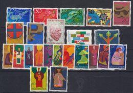 Liechtenstein 1967 Year (see Scan) ** Mnh (43934) - Liechtenstein
