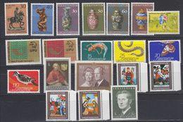 Liechtenstein 1974 Year (see Scan) ** Mnh (43935) - Liechtenstein