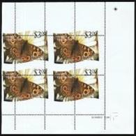 Niuafo'ou 2012, Butterflies, Val Of 3$, ERROR In Perforation, BF - Errori Sui Francobolli