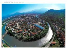 38 - Grenoble - Les Méandres De L'Isère - L'Ile Verte - Carte Neuve - Voir Scans Recto-Verso - Grenoble