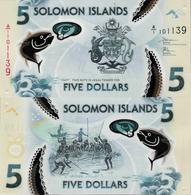 Solomon Islands 2019 - 5 Dollars - Pick NEW UNC Polymer - Salomonseilanden