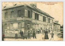 76.LA NEUVILLE-CHAMP-D&acute OISEL.L E CAFE CHARDON.PLIE - Non Classés