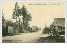 76.LA NEUVILLE-CHAMP-D&acute OISEL.L E ROND-POINT DE LA CROIX - Non Classés