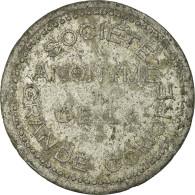 Monnaie, Comores, Société Anonyme De La Grande Comore, 25 Centimes, TB+ - Monétaires / De Nécessité