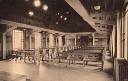 76 MONTCAUVAIRE Près Clères - LCOLLEGE DE NORMANDIE La  Salle Des Fêtes CPA   1940 EDIT Phototypie LECERF ROUEN   N°1 - Scuole