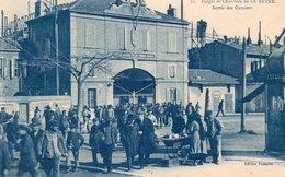 83 LA SEYNE FORGES ET CHANTIERS SORTIE DES OUVRIERS BELLE ANIMATION - La Seyne-sur-Mer