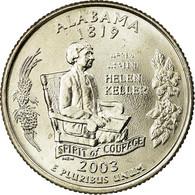 Monnaie, États-Unis, Alabama, Quarter, 2003, U.S. Mint, Philadelphie, SPL - 1999-2009: State Quarters