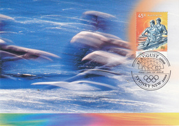Australia 2000 Sydney Olympic Game  Rafting Maxcard - Rafting