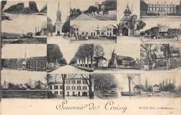 78-CROISSY-SOUVENIR MULTIVUES - Croissy-sur-Seine