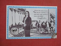 Textile Workers Union Crystal Lee Jordan Sutton  Ref 3521 - Gewerkschaften
