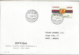 MADRID CC CON ATM LOGO CORREOS 1992 - 1931-Today: 2nd Rep - ... Juan Carlos I