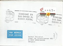 BARCELONA  CC CON ATM KLUSSENDORF 3 DIGITOS JUEGOS OLIMPICOS BARCELONA 92 MAT LISTA PRIMER DIA FDC - 1931-Hoy: 2ª República - ... Juan Carlos I