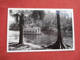 RPPC > > Silver Springs    Florida    Ref 3521 - Silver Springs