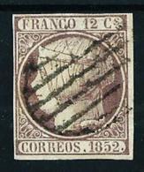 España Nº 13 Usado Cat.205€ - 1850-68 Royaume: Isabelle II