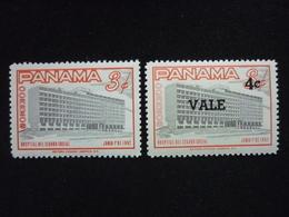 Panama, 1962 Social Security Hospital Scott#440/445 MNH CV 0,50USD - Panama