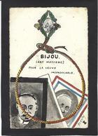 CPA Franc Maçonnerie Masonic Maçonnique Non Circulé Bijou Masonic Par Morley Dessin Original RARE Satirique - Filosofia & Pensatori