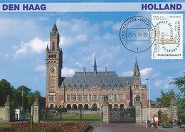 D37738 CARTE MAXIMUM CARD FD 2016 NETHERLANDS - PEACE PALACE THE HAGUE CP ORIGINAL - Otros