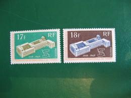 POLYNESIE YVERT POSTE ORDINAIRE N° 70/71 NEUFS** LUXE COTE 26,00 E - Unused Stamps
