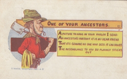 One Of Your Ancestors , 1908 - Humour