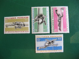 POLYNESIE YVERT POSTE ORDINAIRE N° 42/45 NEUFS** LUXE COTE 41,50 E - Unused Stamps