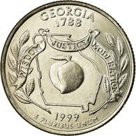 Monnaie, États-Unis, Georgia, Quarter, 1999, U.S. Mint, Denver, SPL - 1999-2009: State Quarters