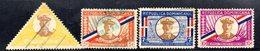 APR1851 - REPUBBLICA DOMINICANA 1935 , Serie Yvert N.  274/277  Usato (2380A) - Repubblica Domenicana