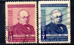 APR1848 - REPUBBLICA DOMINICANA 1940 , Serie Yvert N.  334/335  Usato (2380A) - Repubblica Domenicana