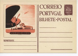 Portugal  Postal Stacionery Aircraft Luftfahrt / Airport Flughafen Lisboa H208 - Avions