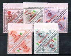 APR2028 - REPUBBLICA DOMINICANA 1958 , Serie Yvert N.  474/483   ***  MNH  (2380A)  Melbourne + Rifugiati - Repubblica Domenicana