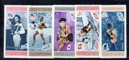 APR2030 - REPUBBLICA DOMINICANA 1959 , Serie Yvert N.  510/514   ***  MNH  (2380A) Anno Geofisico - Repubblica Domenicana