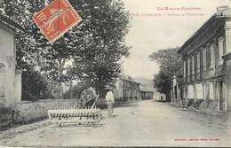 CPA 31 Haute Garonne Cugnaux Route De Toulouse Attelage Engin Agricole - Francia