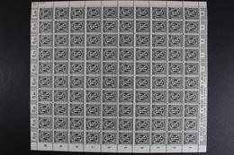 Bizone, MiNr. 16 Bz R3, 100er Bogen, Postfrisch / MNH - Zone Anglo-Américaine