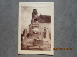 CPA 10 Aube CHAMPFLEURY Vers Arcis Sur Aube   - Le Monument Aux Morts 1914-18 Jules Gobin émile Martin < La Perthe 1930 - Arcis Sur Aube