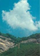 38 - Isère - Vallée Du Graisivaudan - Massif De La Chartreuse - A Gauche : Aire De Départ Des Parapentes Et Du Funiculai - France
