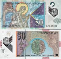 Macedonia 2018 - 50 Dinars - Pick NEW UNC POLYMER - Macédoine