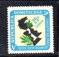 APR2034 - REPUBBLICA DOMINICANA 1967 , Serie Yvert N.  657   ***  MNH  (2380A)  Scacchi Chess - Repubblica Domenicana