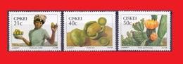 CISKEI 1990 Prickly Pear / Poire Cactus / Figue De Barbarie / Cactusvijg MNH ** - Fruits