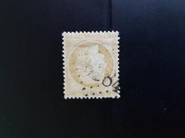 N°59, 15 Cts Bistre Ceres,  GC 6284, Laheycourt, Meuse. - Marcophilie (Timbres Détachés)
