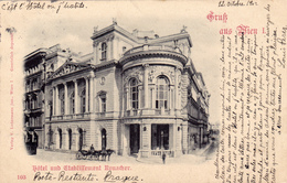 1348/ Gruss Aus Wien, Hotel Und Etablissement Ronacher, 1902 - Vienne