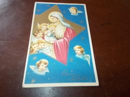 B636  Buon Natale Cm14x9 Presenza Piega Angolo - Non Classificati