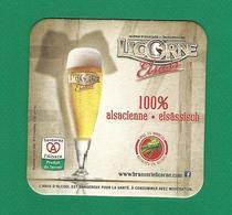 LICORNE ELSASS  100 % ALSACIENNE ELSÂSSISCH - Beer Mats