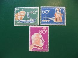 POLYNESIE YVERT POSTE AERIENNE N° 22/24 NEUFS** LUXE COTE 37,20 E - Unused Stamps