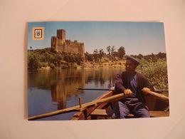 Postcard Postal Portugal Vila Nova Da Barquinha Castelo De Almourol - Santarem