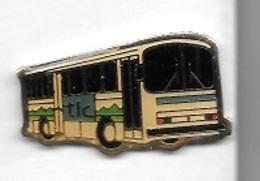 Pin's  Tranports, BUS  T L C - Transports