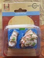 Liban - Raouché (Beyrouth) - élément Souvenir Dans Sa Boîte D'origine - Années 2000 - Miniatures Décoratives